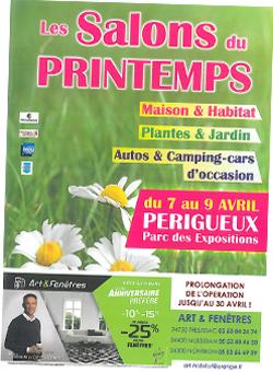 Salon Printemps 2017 - Parc des Expos