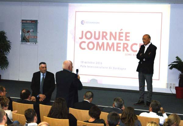 Venue de Jacques Séguéla pour la CCI