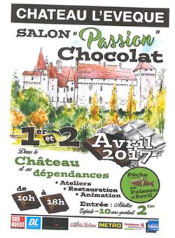 Salon du Chocolat 2017 - Château Lévèque
