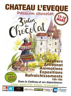 Salon du Chocolat 2018 - Château Lévèque