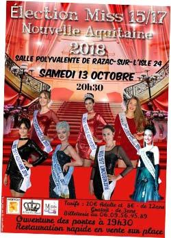 Election Miss 15/17 Nouvelle Aquitaine