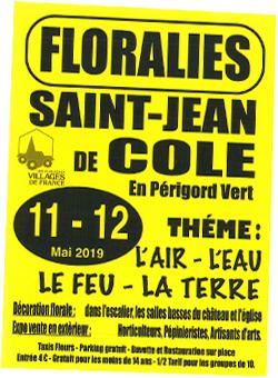 Floralies 2019 - St Jean de Côle