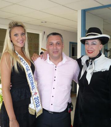 Avec Geneviève de Fontenay & Miss Prestige 2012